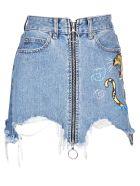 Marcelo Burlon Amine Jeans Skirt