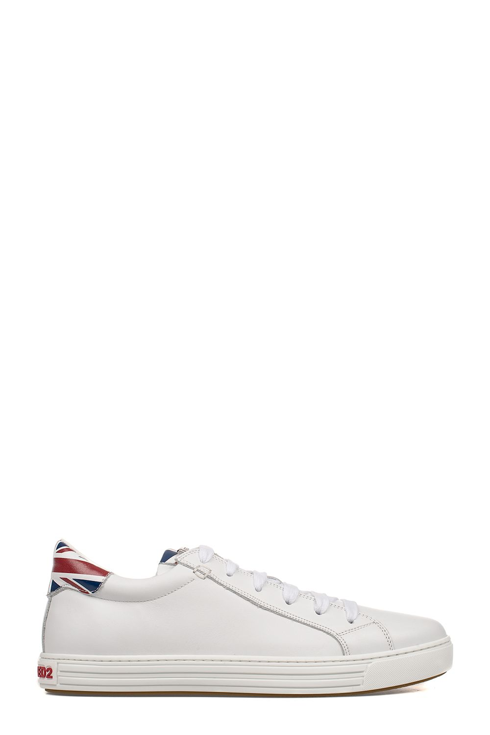 White Tennis Club Leather Sneakers