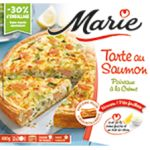 Marie - Salmon and Leek Tart