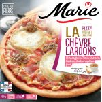 Marie Pizza - Goat cheese and bacon dices