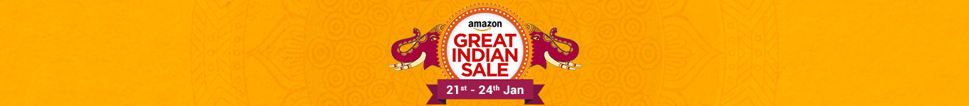 Amazon great indian sale banner rdomw3