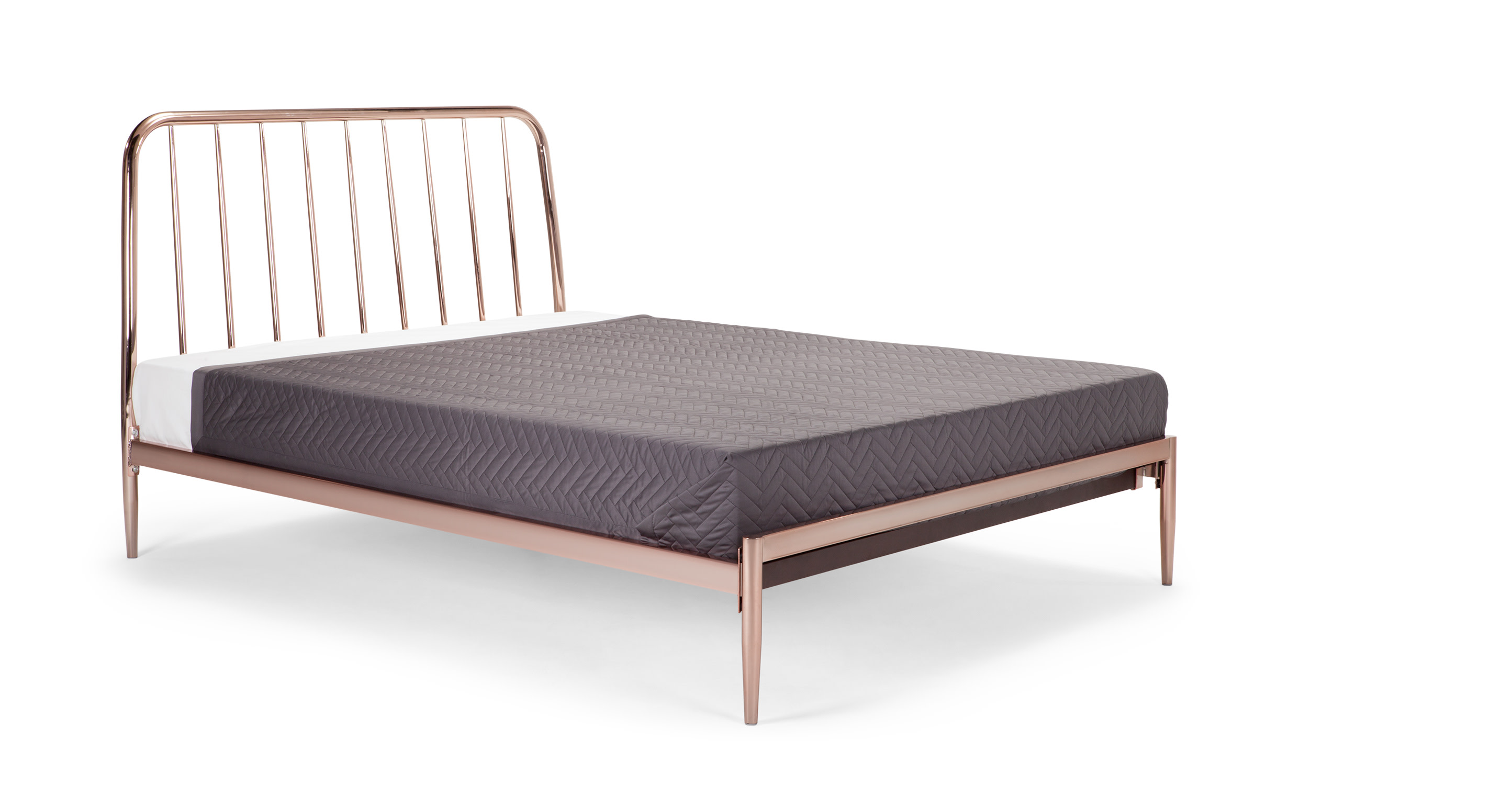 Alana Double Bed Copper