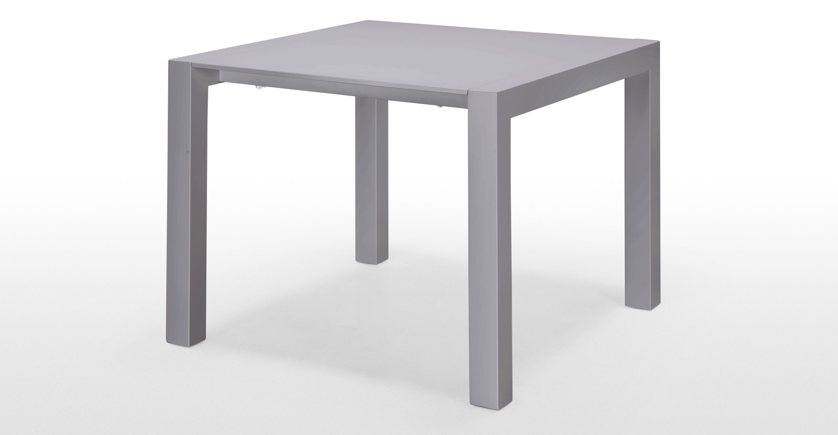 Bramante Square Extending Dining Table In Grey