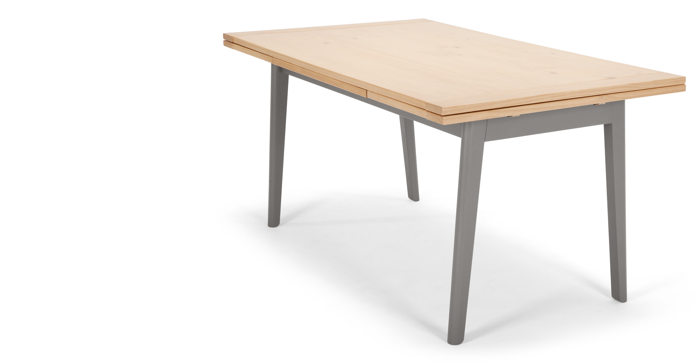 Kleur Extendable Dining Table Pine and Grey madecom : kleurextendablediningtablepineandgreylb01 from www.made.com size 2889 x 1500 jpeg 135kB