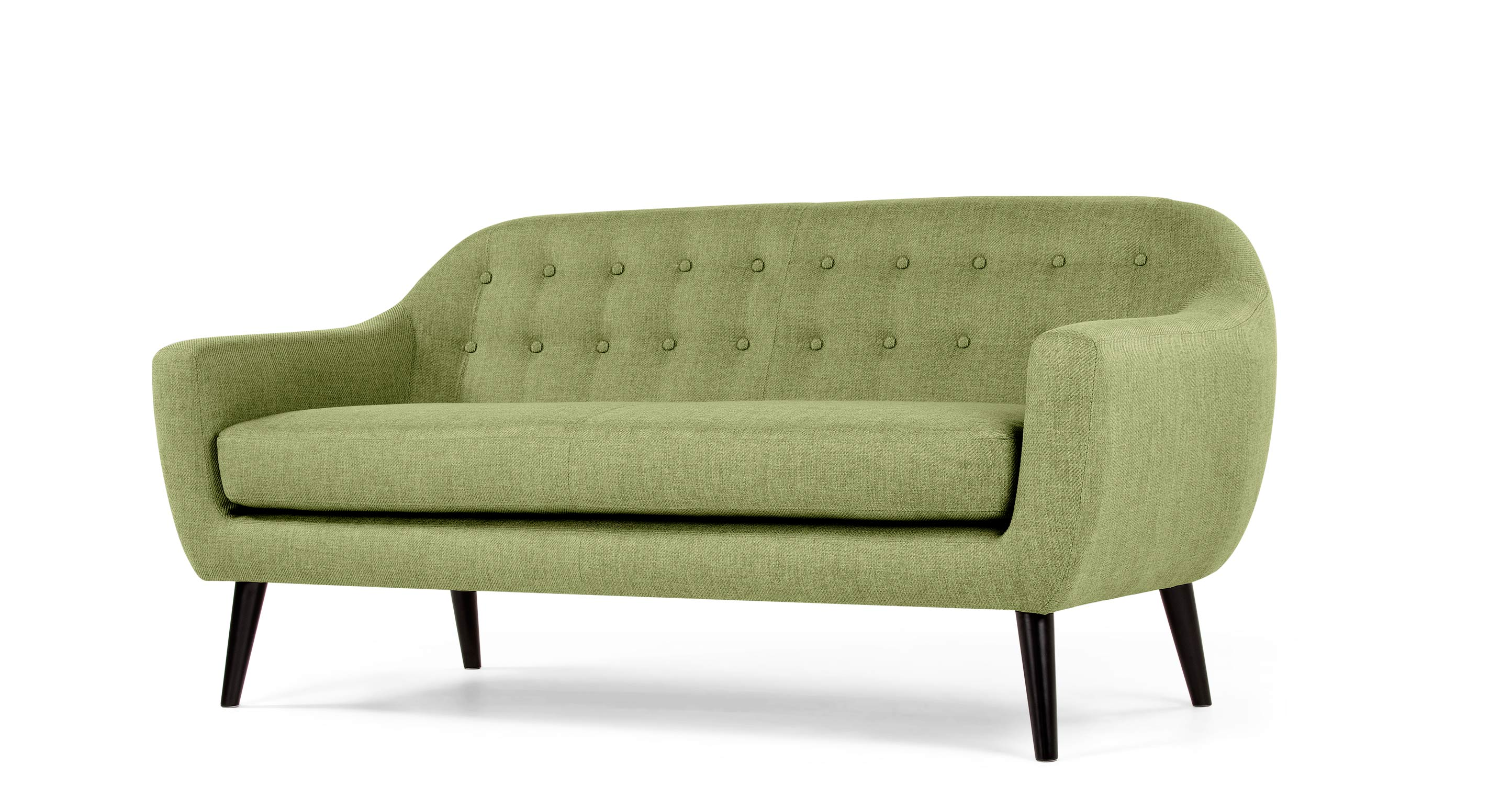 Ritchie 3 Seater Sofa In Lime Green Made Com
