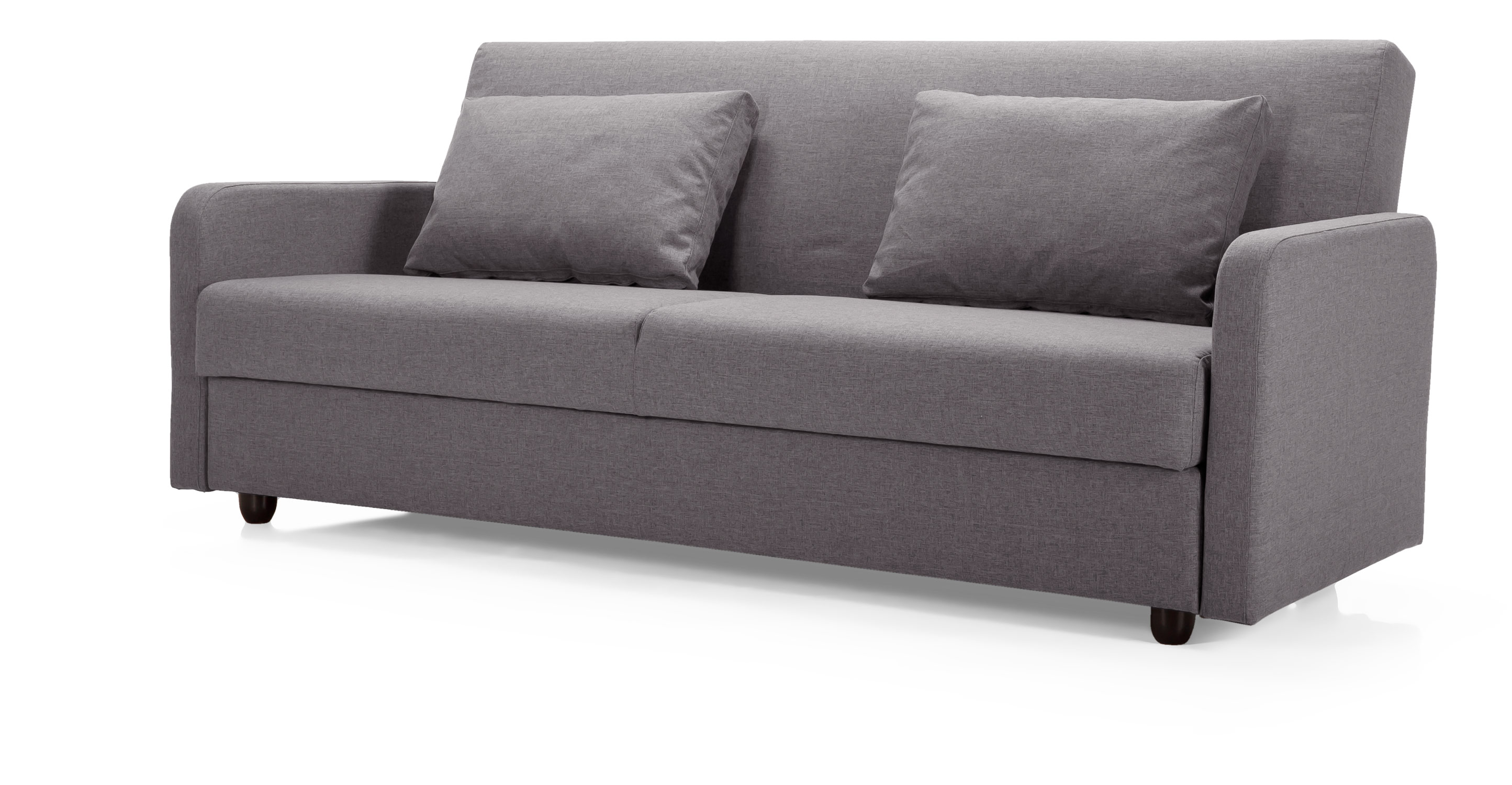 Weston sofa bed in basalt grey for 90 cm sofa bed