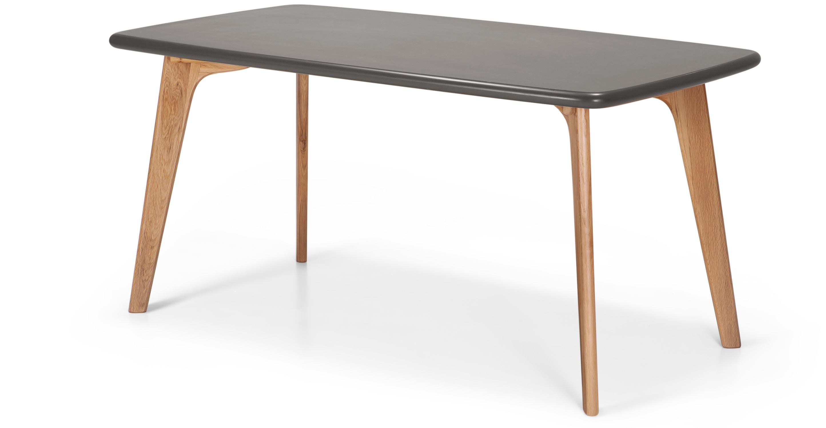 Fjord Rectangle Dining Table Oak And Grey