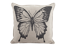 Relic Large Square Cushion 60 x 60cm, Butterfly