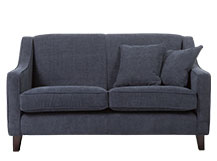 Halston 2 Seater Sofa, Midnight Blue