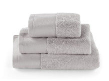 Aire Zero Twist 550 GSM Cotton Towels, Light Silver