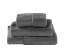 Aire Zero Twist 550 GSM Cotton Towels, Slate Grey