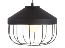 Arthur Deep Pendant Lamp, Grey