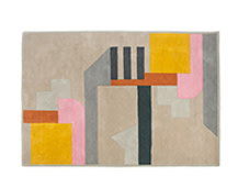 Astoria Rug 170 x 240cm, Yellow & Pink Mix