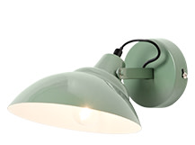 Avery Wall Light, Moss Green