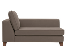 Belfort Right Hand Facing Chaise, Pisa Grey