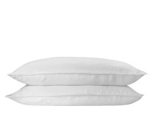 Brisa 2 x 100% Soft Washed Linen Pillowcases, Off White
