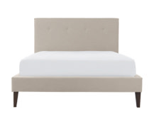 Capri Double Bed, Desert Beige
