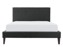 Capri Kingsize Bed, Blacksmith Grey