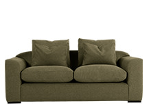 Christian 3 Seater Sofa, Moss Weave