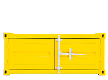 Container Small Cabinet, Buttercup Yellow