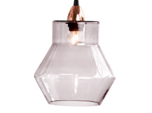 Ilaria Pendant Shade, Blush Grey