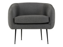 Dinky Accent Chair, London Grey