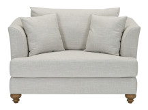 Elliott Love Seat, Chic Grey