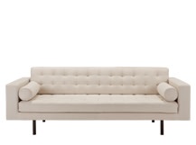 Fielding 3 Seater Sofa, Natural Chevron