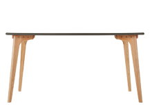Fjord Rectangle Dining Table, Oak and Grey