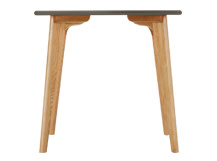 Fjord Compact Dining Table, Oak and Grey
