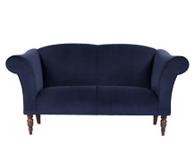 Garston 2 Seater Sofa, Regal Blue
