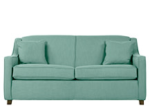 Halston Sofa Bed, Aqua