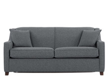 Halston Sofa Bed, Charcoal Weave
