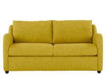 Hamlyn 2 Seater Sofa, Sulphur Yellow