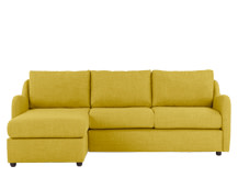 Hamlyn Left Hand Facing Corner Sofa, Sulphur Yellow