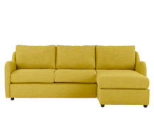 Hamlyn Right Hand Facing Corner Sofa, Sulphur Yellow