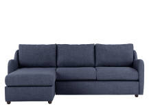 Hamlyn Left Hand Facing Corner Sofa, Shadow Indigo