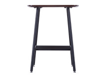 Haywood Side Table, Walnut and Black