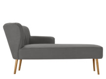 Jersey Right Hand Facing Chaise, Graphite Grey
