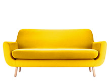 Jonah 2 Seater Sofa, Dandelion Yellow
