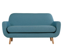 Jonah 2 Seater Sofa, Marine Blue