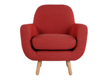 Jonah Armchair, Ketchup Red