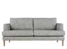 Kotka 2 Seater Sofa, Vintage Ink Cotton Mix