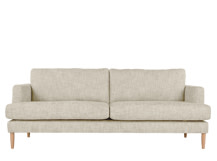 Kotka 3 Seater Sofa, Vintage Dust Cotton Mix