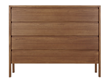 Ledger Chest of Drawers, Dark Stain Elm