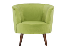 Lulu Scoop Chair, Flanders Green