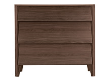 Mara Chest of Drawers, Walnut