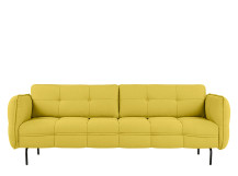 Maverick 3 Seater Sofa, Sunshine Yellow