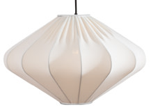 Mist Diamond Pendant Lamp, White