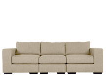 Mortimer 4 Seater Modular Sofa, Shadow Stone
